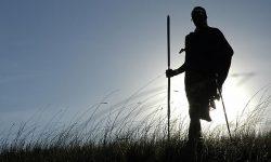 1103 Maasai at Sundown