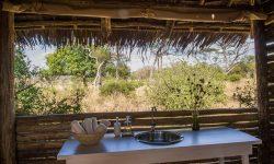 Bathroom view at Kuro Tarangire