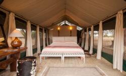 Inside the Tent at Kuro Tarangire
