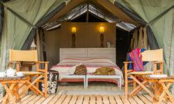 Bedroom with a view at Kuro Tarangire