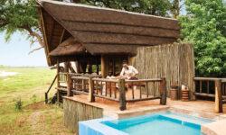 Belmond Safaris, Khwai River Lodge, Okavango, Botswana.