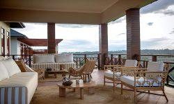 Balcony view Acacia Farm Lodge