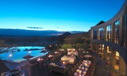Four Seasons Serengeti Outdoor dining
