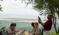Garden breakfast at Lake Manyara Serena Safari Lodge