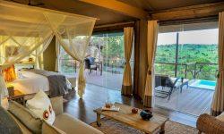 Bedroom at Lemala Kuria Hills