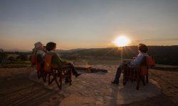 Campfire at Karatu Simba Lodge