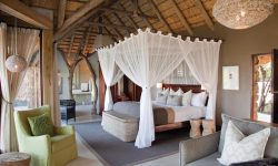Luxury suite at Leopard Hills