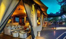 View of the lounge at Lemala Kuria Hills