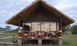 Tent view at Tarangire Simba Lodge