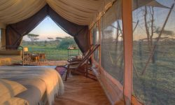 Inside the Tent at Serengeti Under Canvas