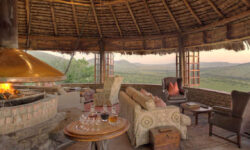 Lounge at Kleins Camp