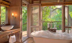 Luxury Bathroom at Andbeyond Lake Manyara Tree lodge