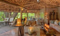 Lounge at Lake Manyara Tree Lodge
