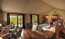 Bedroom at Serengeti Migration Camp