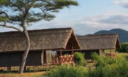 Tents at Tarangire Simba Lodge