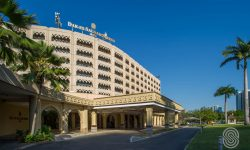 Exterior and entrance to Dar es Salaam Serena Hotel