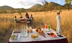 Finch Hattons - bush dining