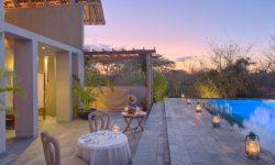 Finch Hattons - spa pool