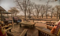 Hyena Pan - Deck overlooking waterhole