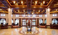 Lobby at Dar es salam Serena Hotel