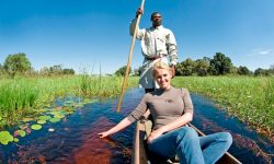Africa; Botswana; Okavango Delta; Sanctuary Chief's Camp; Mokoro excursion