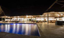 Restaurant &pool night