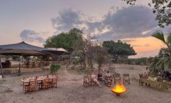 Sundowner at Roho ya Selous