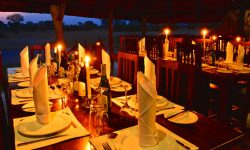 Dining - Bomani Tented Lodge