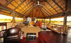 Nehimba Lodge - Lounge area