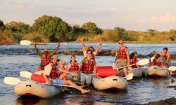 Canoe Safari - Zimbabwe