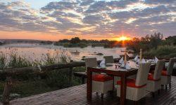 Dining at Zambezi Sands