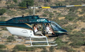 photographic safari by helicopter 1