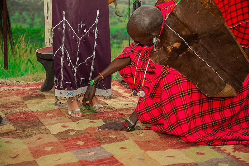 Maasai Ritual