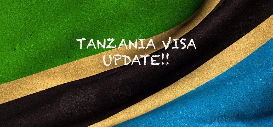 Tanzania Visa Update