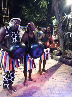 Boma dancers